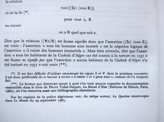 extrait du Traité d'Algèbre de Roger Godement.