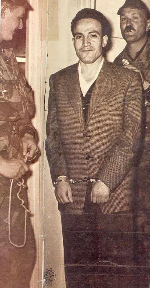 Larbi Ben M'Hidi, 1957