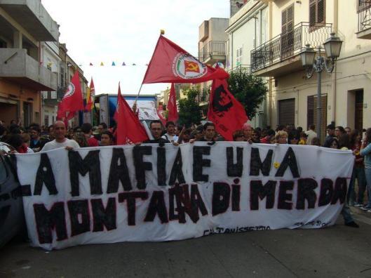 manifestation en mémoire de Peppino (1989)