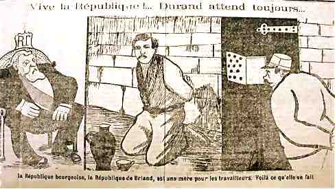 Illustration du Progrès socialiste du Havre, janvier 1911