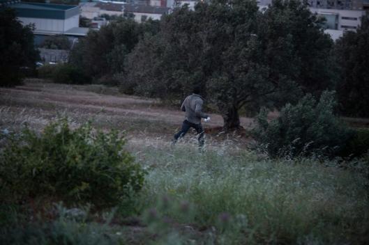 Au total, une quinzaine de migrants ont réussi à échapper à la police.