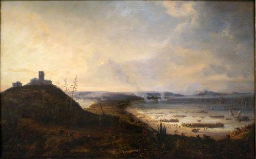 Sidi-Ferruch par Pierre-Julien Gilbert, 1836